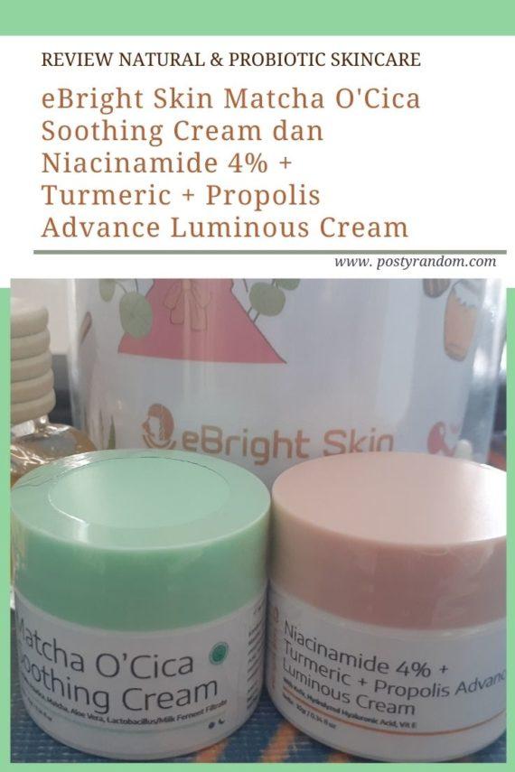 ebright skin matcha niacinamide