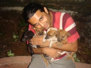 rescued dogs vikram shastri, ambarnath india