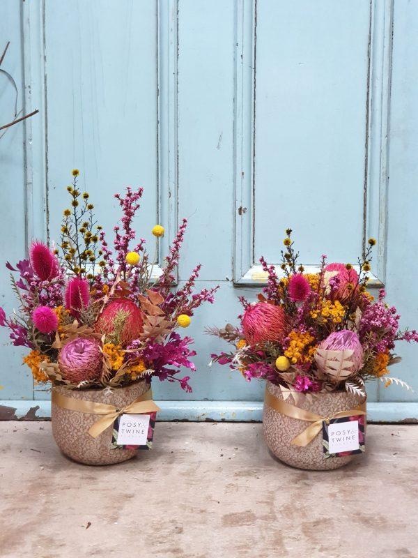 Dried flowers Posy & Twine Florist Australia