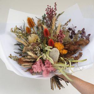 Autumnal flowers Posy & Twine Florist