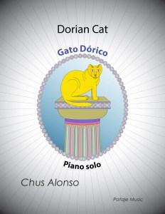 Dorian Cat FRONT Cover 232x300 - Music for Piano