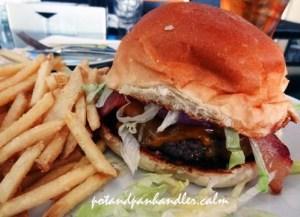 BBQ burger fry copy