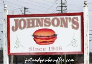 Johnsons sign copy