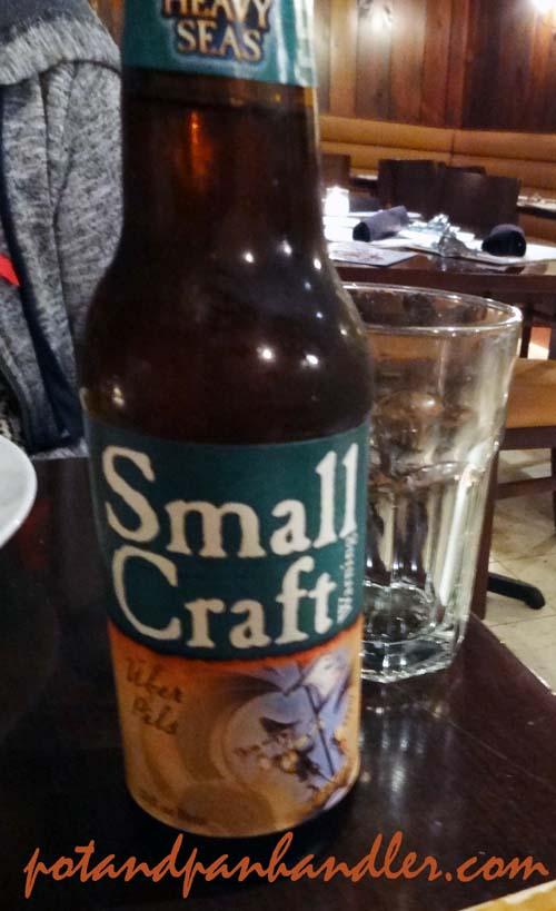 Small Craft Uber Pils at Philadelphia, Pennsylvania's Tavern on Camac