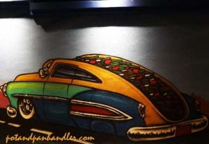 Barrio Cafe Lowrider Graffiti, Phoenix, Arizona