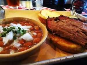 Beef Brisket at Twin Smoker's BBQ, Atlanta, GA