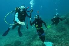 Kurz potápění OWD cvičení pod hladinou