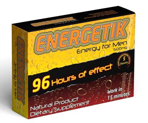 Energetik 5 Capsulas