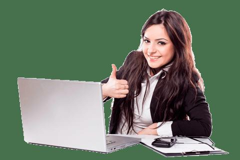 office_woman Soluciones personalizadas