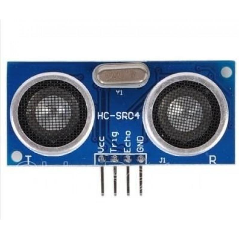 Ultrasonic Sensor Circuit Hc Sr04 Ultrasonic Sensor