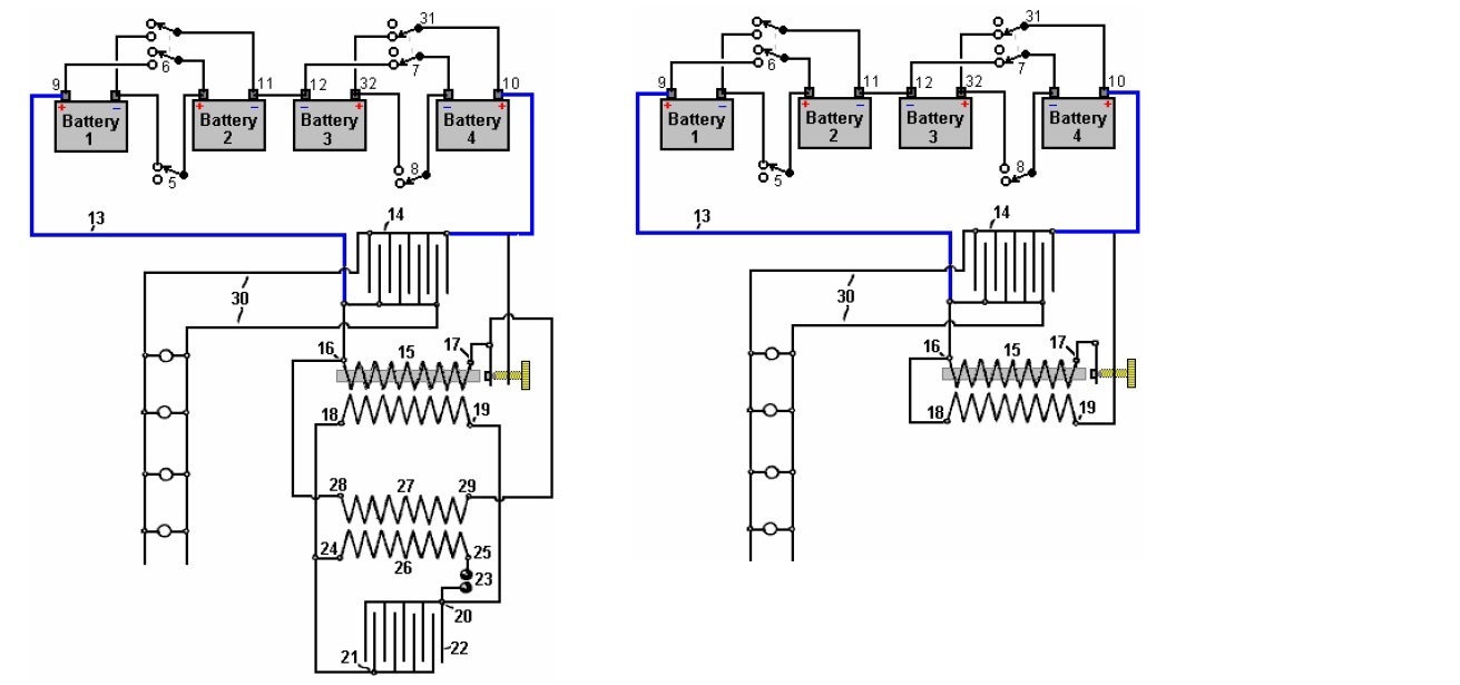 hight resolution of a notice the first version can be done with only the induction coil with interrupter without the second transformer and spark gap