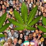 Celebridades que seguramente no sabías que son (o eran) consumidores de cannabis