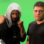 Nick Diaz y Snoop Dogg se rolan el toque