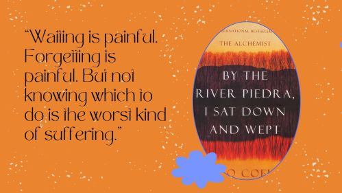 Screengrab of quote from By the River Piedra, I sat down and wept
