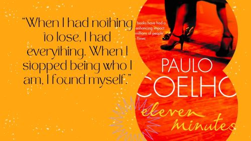 SCreengrab of quote from Paulo Coelho's book