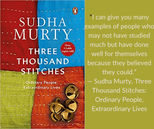 Quote from Sudha Murty