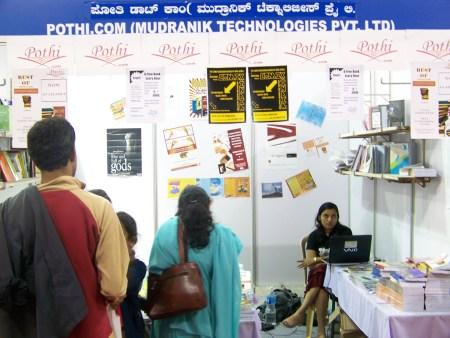 Pothi.com at Bangalore Book Festival 2009