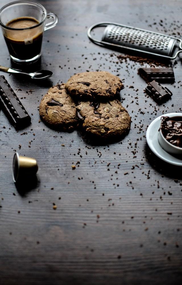 ©Manon de Meersman Cookies à la pâte choco-noisette