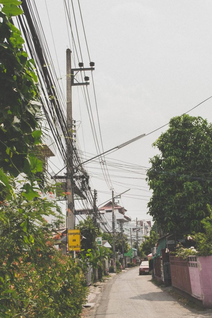 Ruelle de Chiang Mai