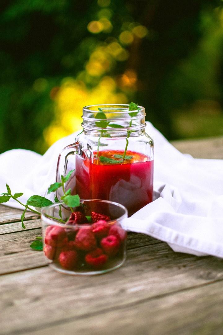 potimanon thé glacé aux fruits rouges et menthe
