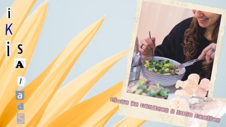 «IKI Salads», le paradis des salades gourmandes et généreuses
