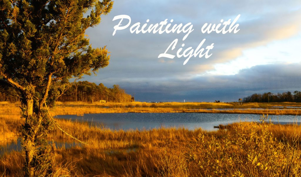Painting with light blog
