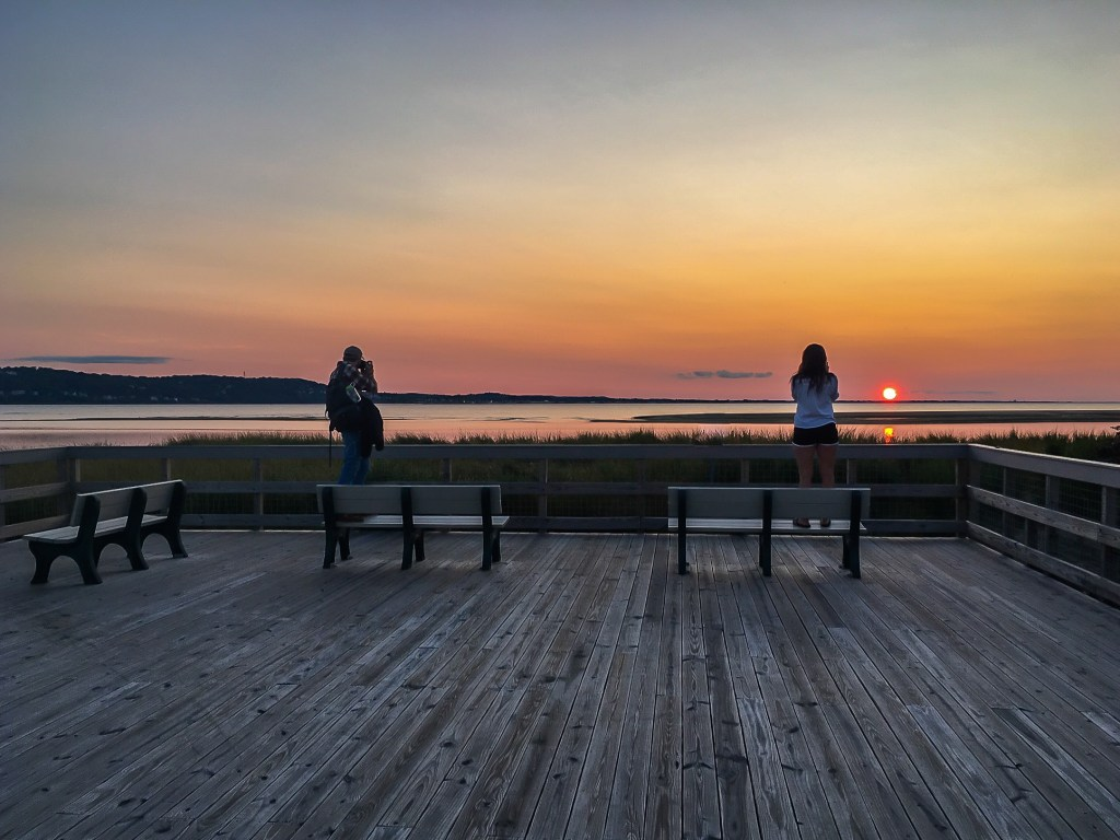 Portraits of the Portraits of the Jersey Shore Sandy Hook Sunset 2017