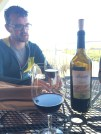 Great weather made even better with a glass of Carmenere
