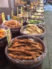 Nishiki Fish Market food
