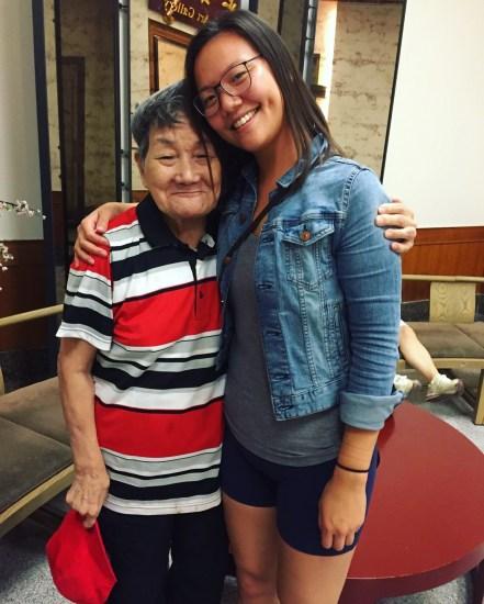 Grandma hug :)