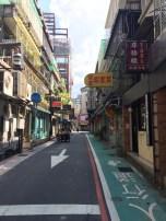 Quiet morning near Yongkang St. in Taipei