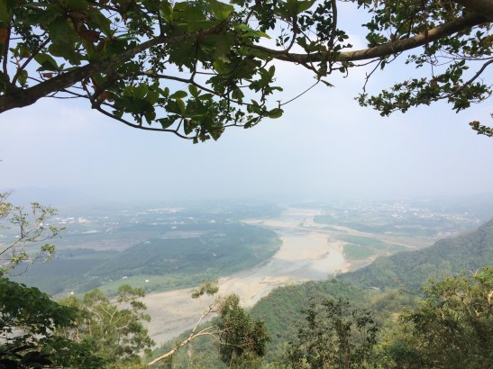 View of Meinong from Lin Shan