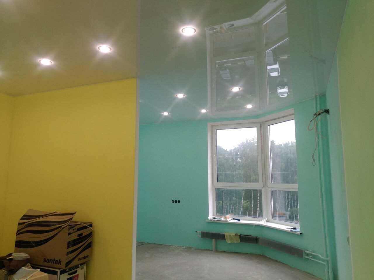 Натяжные потолки на кухню - Проект 11