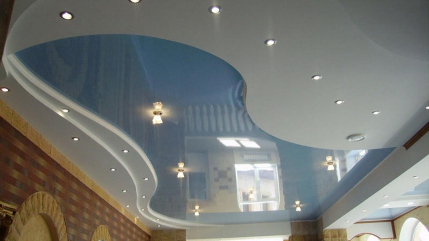 Натяжные потолки Многоуровневые