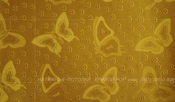 Натяжные потолки Кривой Рог Фактурный потолок цены Листья Бабочки