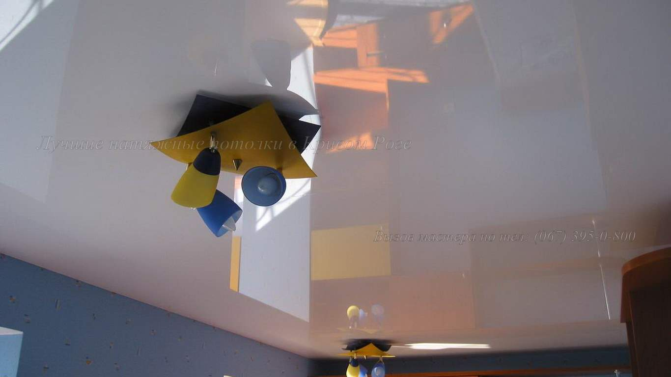 Натяжные потолки в детскую кривой рог