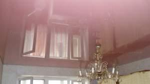 Розовый натяжной потолок в кривом роге