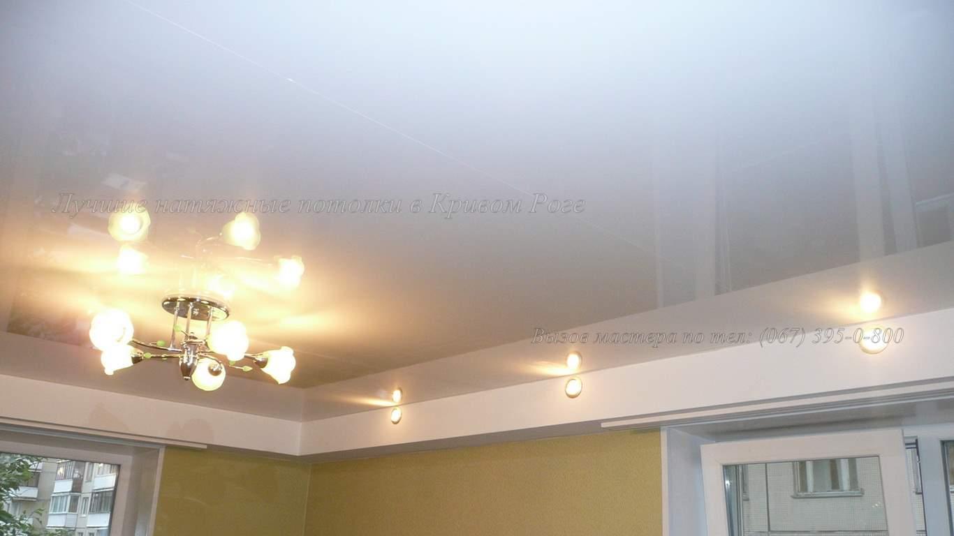 Натяжные потолки кривой рог фотографии