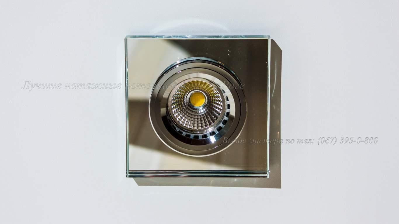 квадратный точечный светильник кривой рог