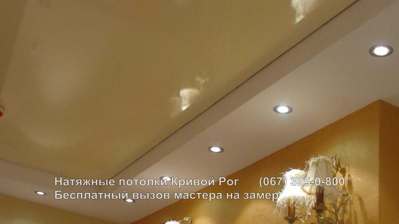 Натяжные потолки Кривой Рог Двухуровневые