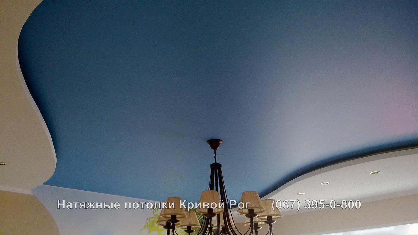 Тканевые натяжные потолки Кривой Рог Фото