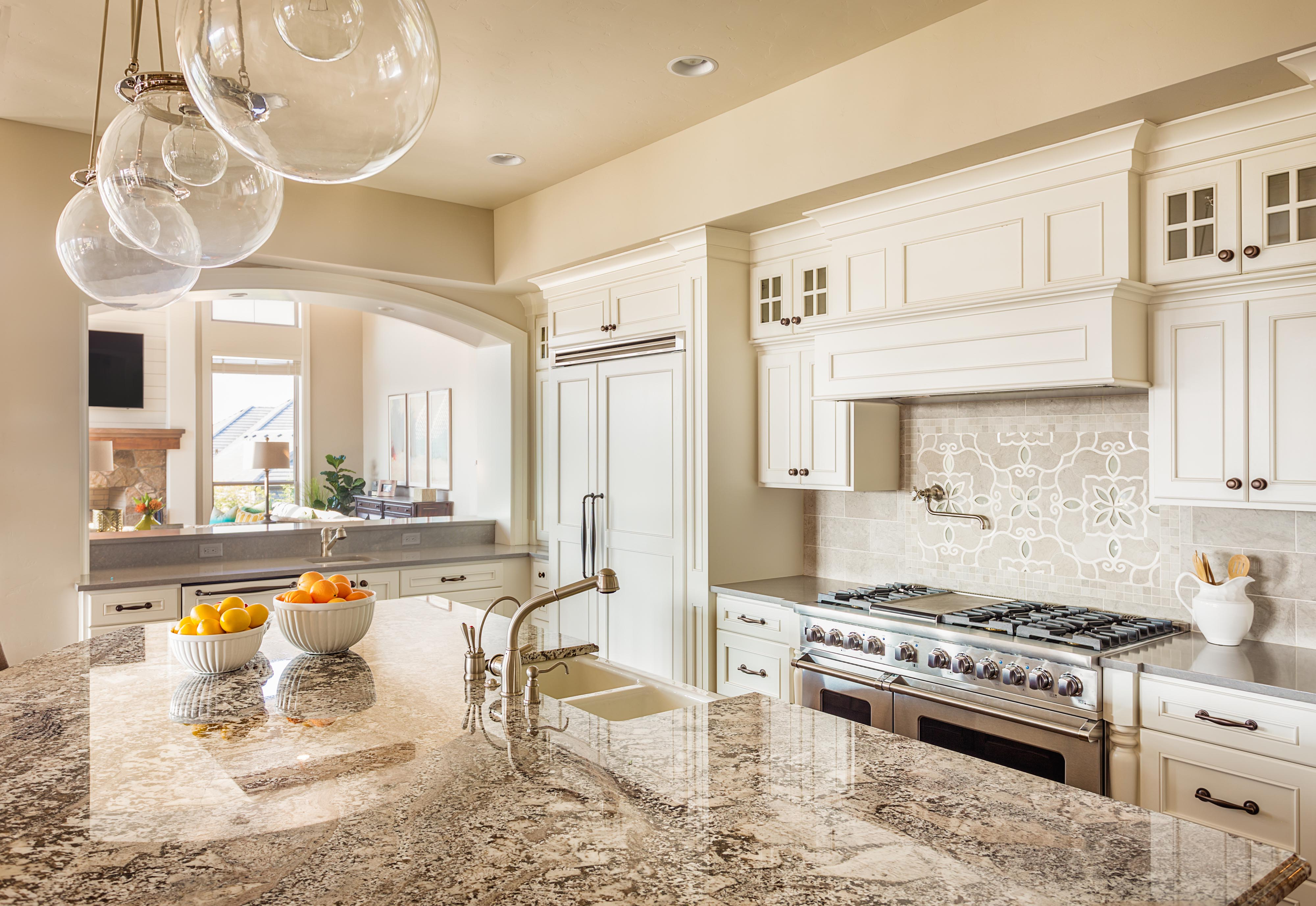 Gorgeous Kitchen Renovation In Potomac Maryland: Kitchen Remodeling, Renovation And Design
