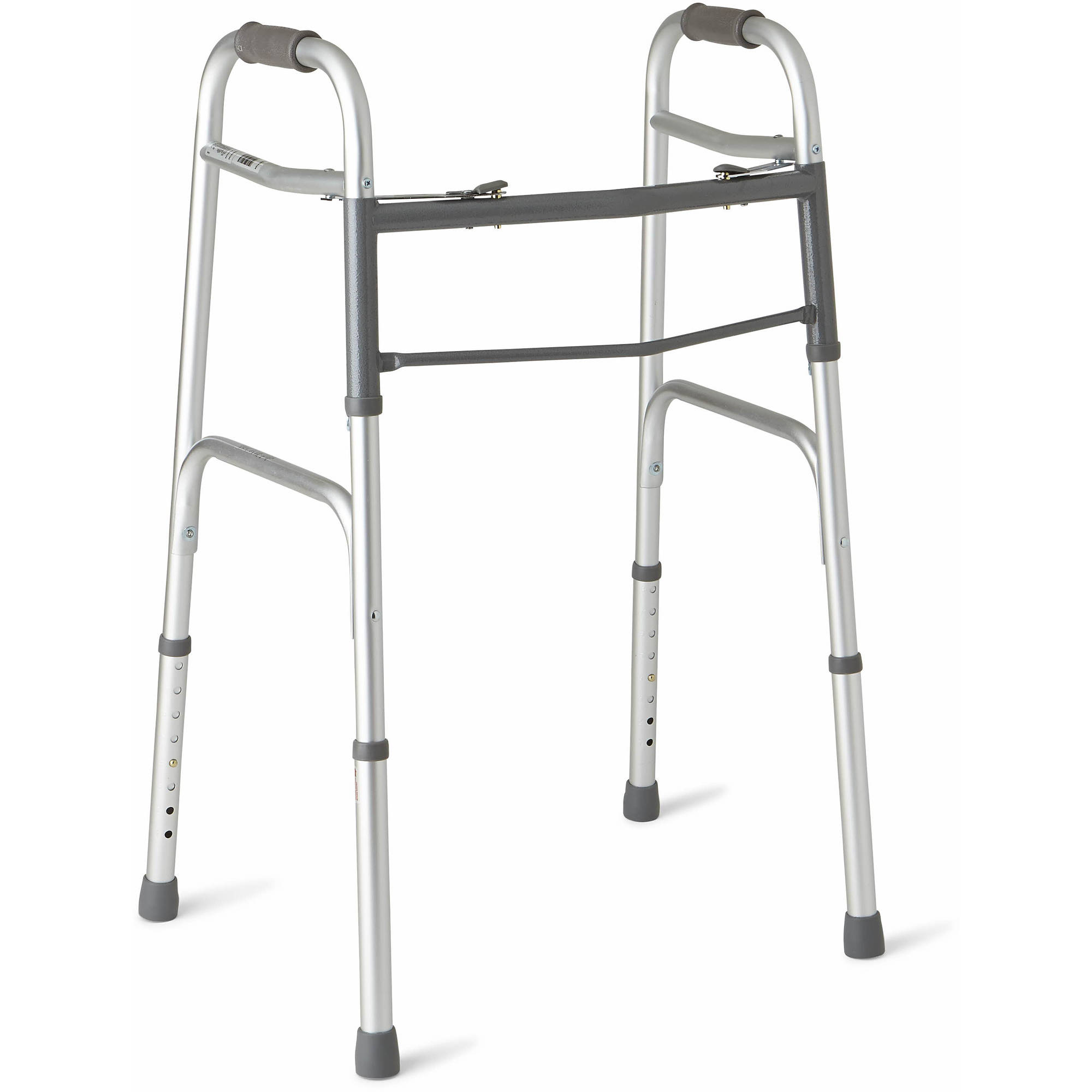 Deluxe Folding Walker With 5 Wheels Potomac Medical
