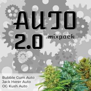 Auto Flowering 2.0 Feminized Cannabis Seeds Mix Pack