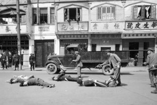 16 May 1949, Shanghai, China --- Execution of Communist Agents --- Image by © Bettmann/CORBIS