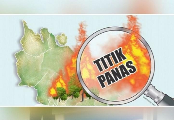 97 Titik Panas Terdeteksi di Riau, Jarak Pandang Berpotensi Turun