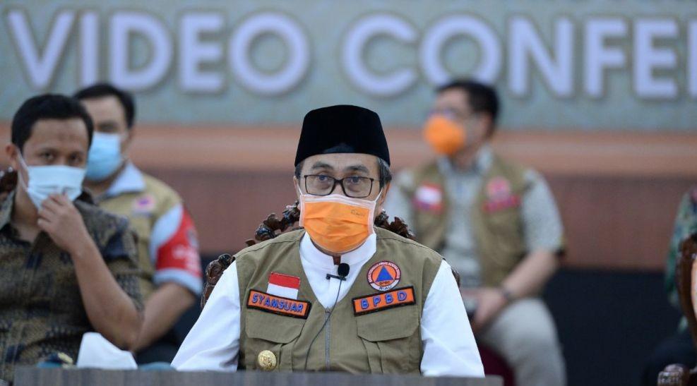 Hindari Kluster Baru di Riau, Gubri Wacanakan ASN Kerja Bergiliran