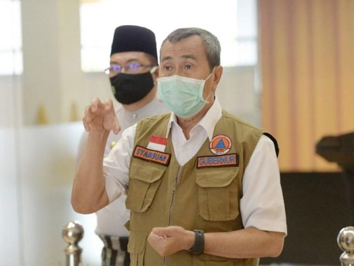 Tambah 206 Kasus Positif, Gubri Ajak Daerah Masifkan Sosialisasi Protokol Kesehatan