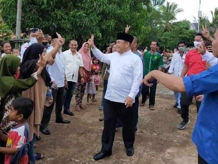 Jelang Pilkada Ogan Ilir, Ilyas Panji Alam InsyaAllah Menang