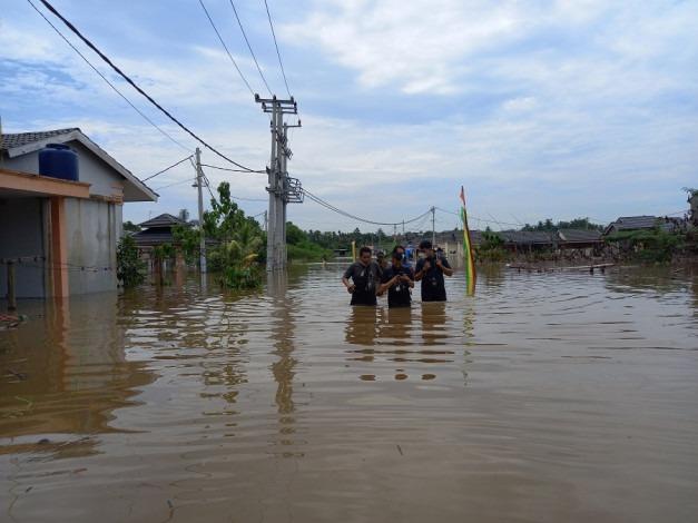 Perumahan Pesona Harapan Indah Sering Kebanjiran, Ternyata Gara-gara Luapan Sungai Sail